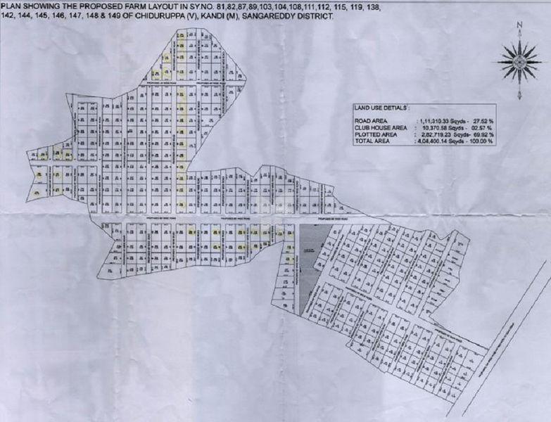 Aduri Gachibowli Paradise County - Master Plans