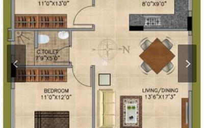 vedant-vayun-in-begur-floor-plan-2d-nd1