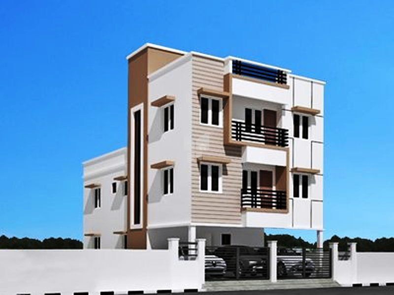 Annai Victory Residency - Elevation Photo