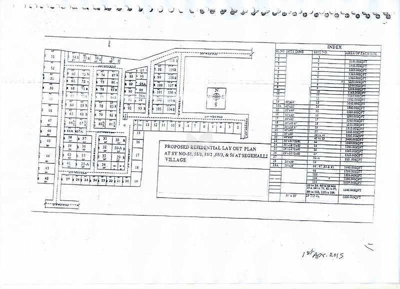 Realty Crystal Akshaya Surya Enclave - Location Maps