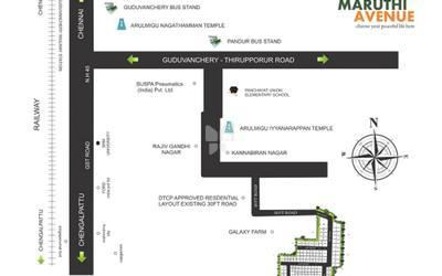 vishwak-maruthi-avenue-in-guduvanchery-location-map-qkh