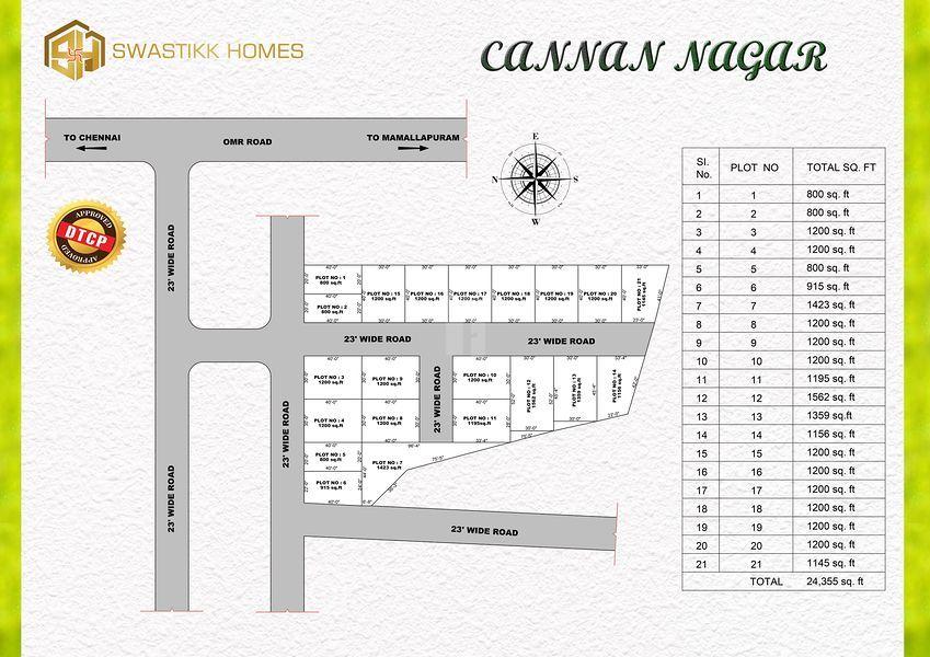 Cannan Nagar - Master Plans