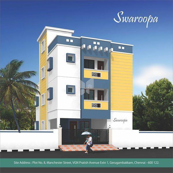 Madhuri Swaroopa Flats - Elevation Photo