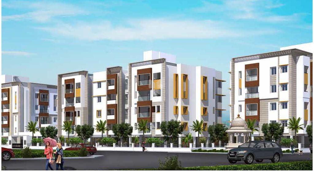 Sanjana Emerald Enclave - Elevation Photo