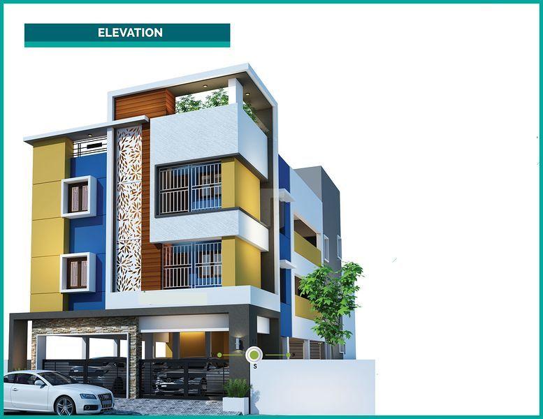 SRB Perumal Avenue - Elevation Photo