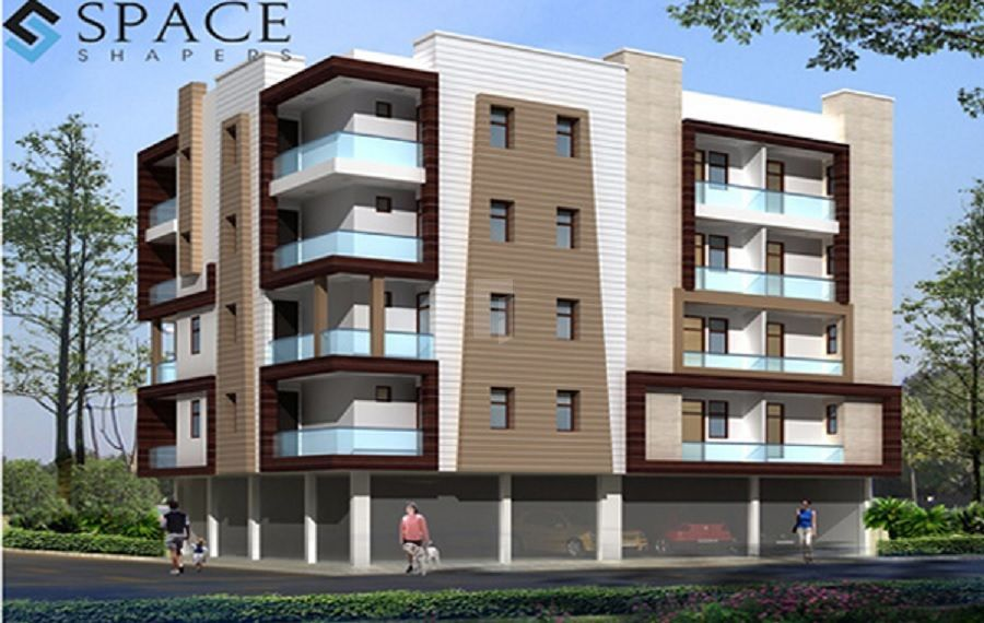Space Aanantham Apartments - Elevation Photo
