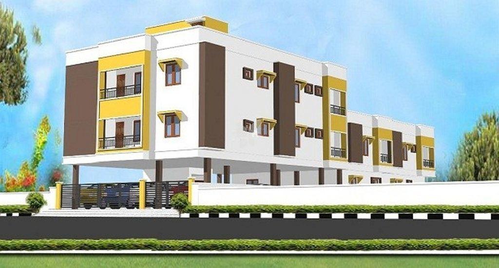 Meenakshi Chandran Apartment - Elevation Photo