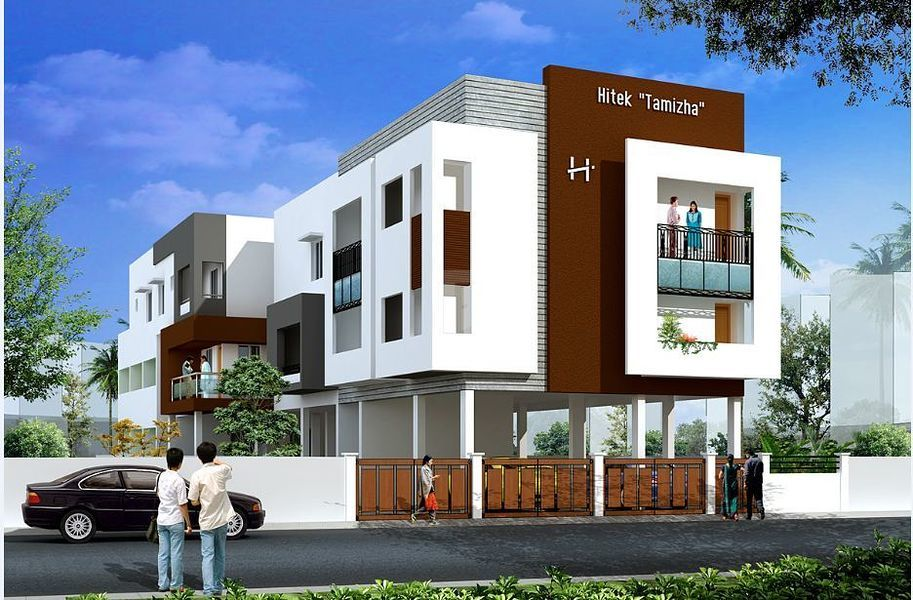 Hitek tamizha in mudichur chennai price floor plans for Apartment design guide sepp 65