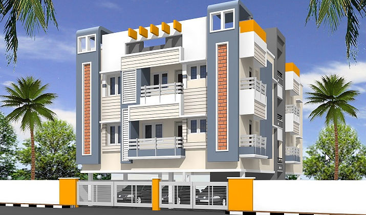 Home Front Elevation In Chennai : Sudharshan homes siddharth nagar in nanmangalam chennai