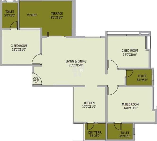 4 Bhk Apartments In Shree Balaji Infinity Baner Pune By
