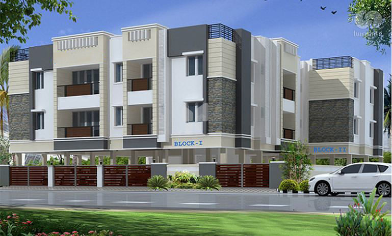 Annai Flats - Project Images
