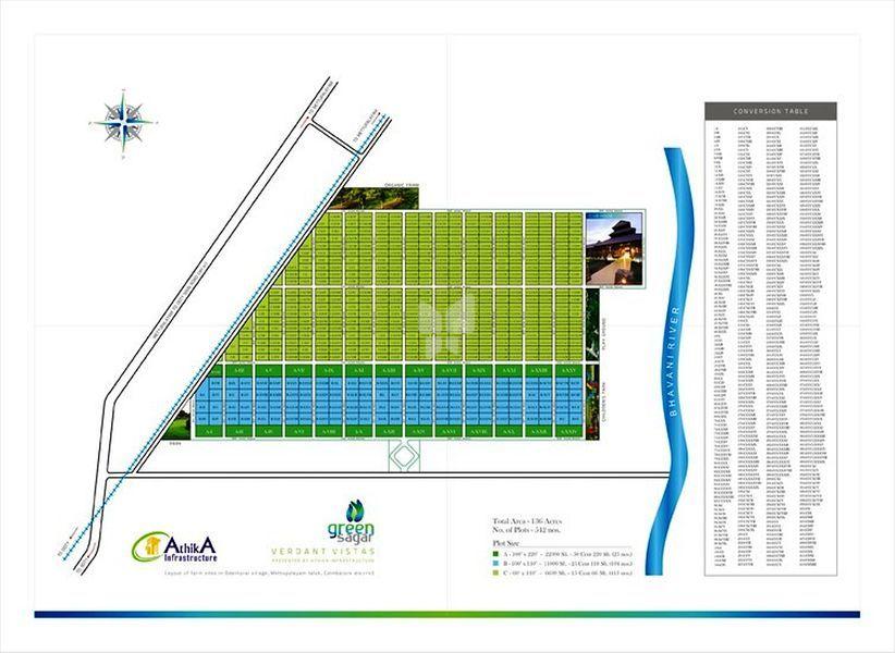Athika Green Sagar - Master Plans