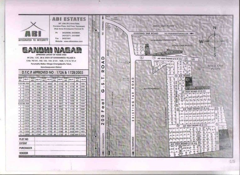 ABI Gandhi Nagar - Master Plans