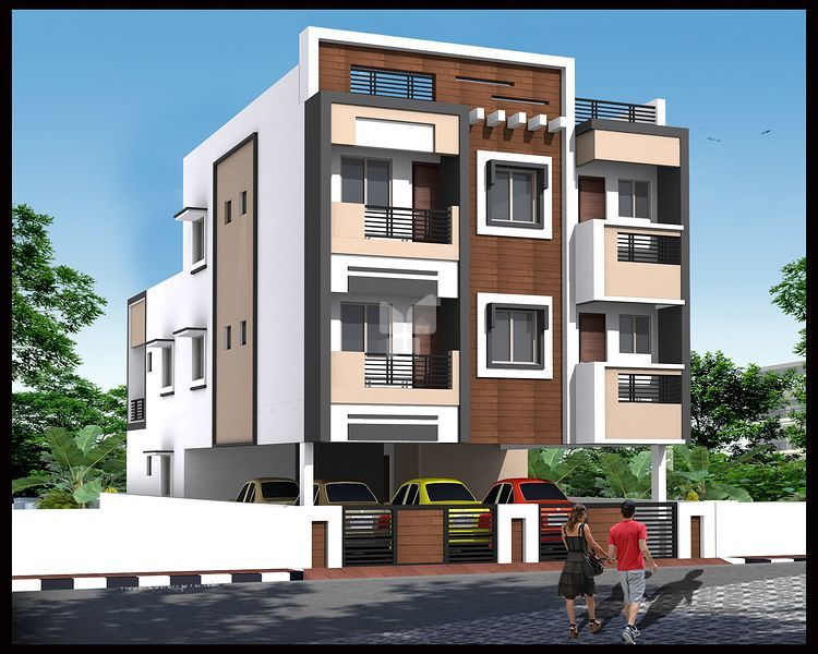 Aadhiti Ecstacy - Elevation Photo