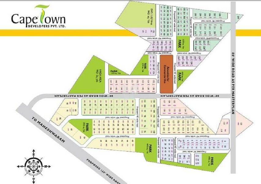 Capetown Rich Green - Master Plans