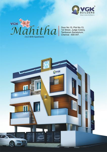 VGK Mahitha - Elevation Photo