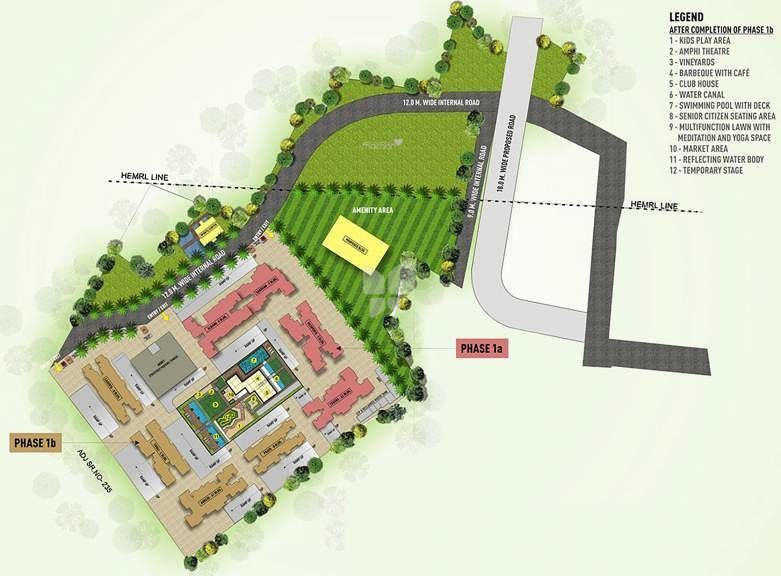 Puraniks Abitante Phase 1B - Project Images