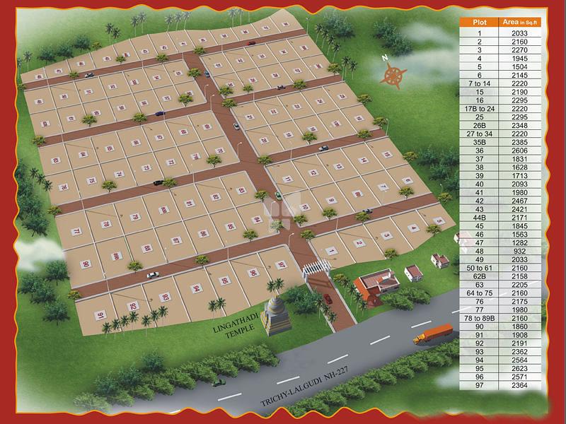 Ala Properties Lingathadi Avenue's - Master Plans