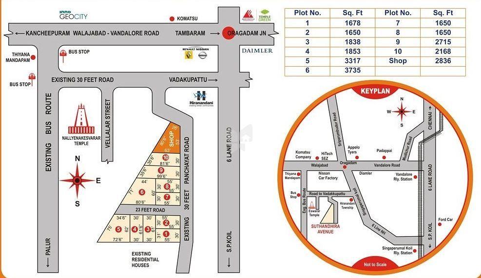 Avani Suthandhira Avenue - Master Plan