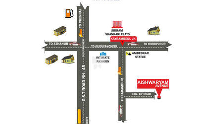 city-aishwaryam-avenue-in-guduvanchery-location-map-trf