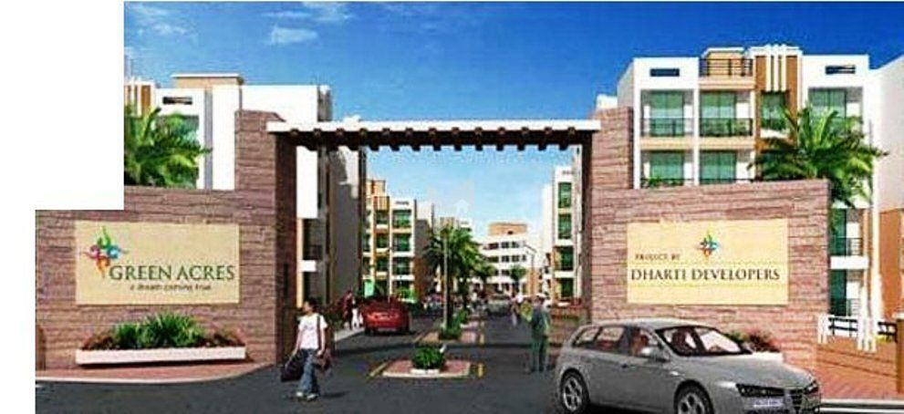 Dharti Green Gold Appartment - Elevation Photo