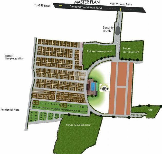Arihant Villa Viviana Plots - Master Plan
