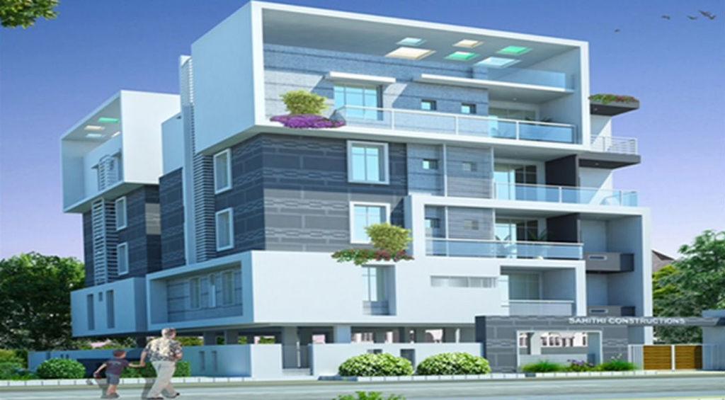 N Home Elevation Jobs : Floor house elevation designs andhra images
