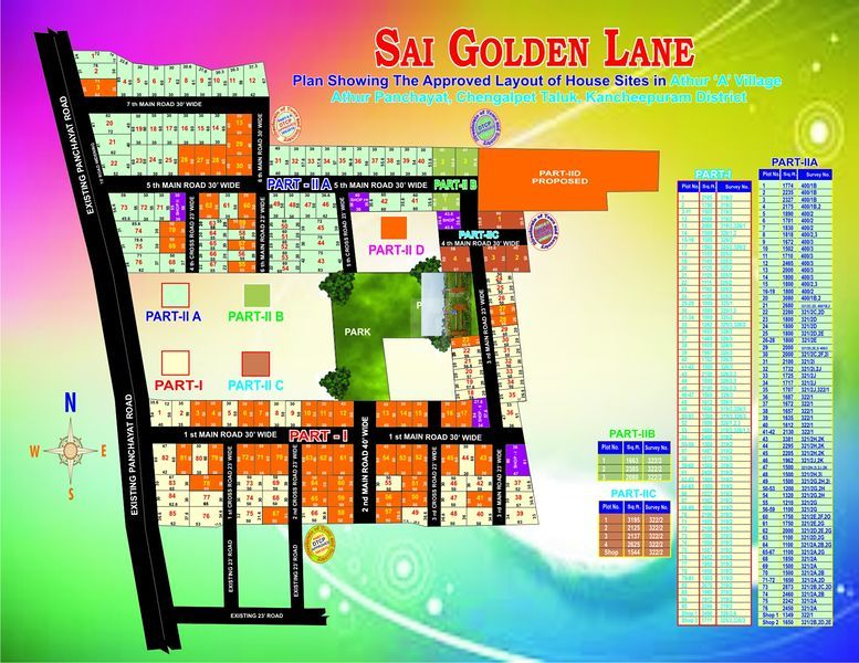 Sai Golden Lane - Master Plans