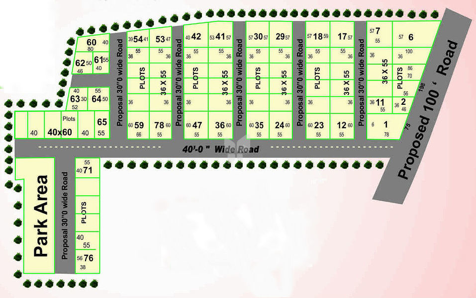 Gayatri Enclave - Plot - Master Plans