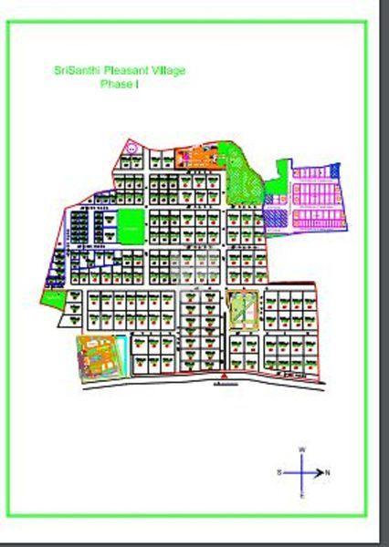SriSanthi Pleasant Village - Master Plans