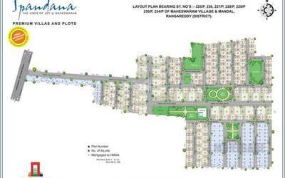 sree-spandana-plots-in-maheshwaram-location-map-uxd