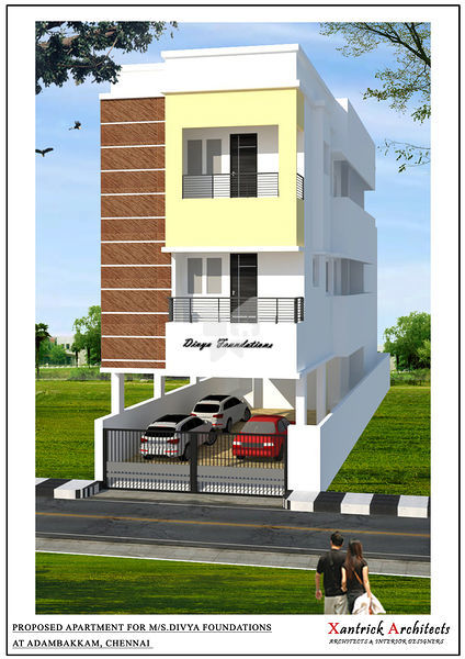 Divya Apartments - Elevation Photo