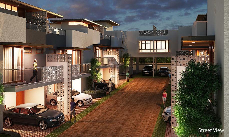Mantri Courtyard - Elevation Photo