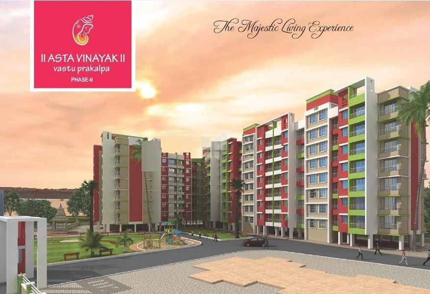 Himanshu Astavinayak Vastu Prakalpa Phase II - Elevation Photo