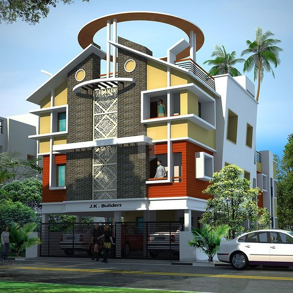 JK Sri Arunai Palace - Elevation Photo