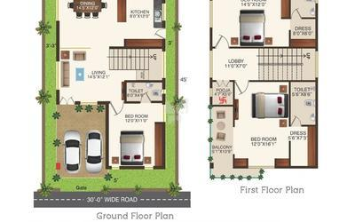 guru-raghavendra-royal-palms-in-gajularamaram-floor-plan-2d-luf