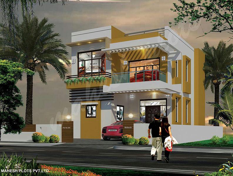 First Floor Elevation In Hyderabad : Pedda golconda v mahesh villa in shamshabad hyderabad