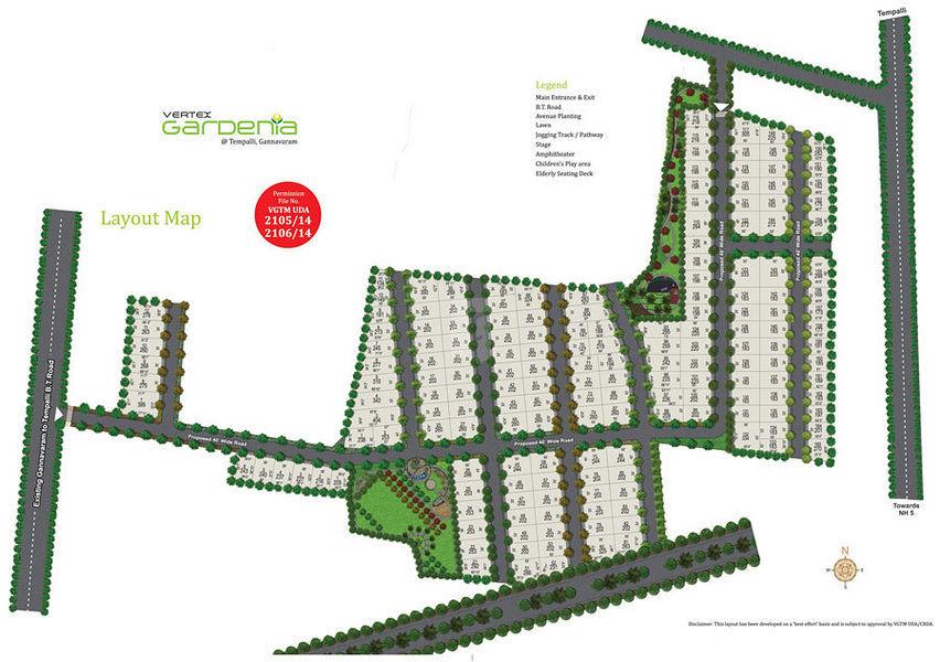 Vertex Gardenia - Master Plan