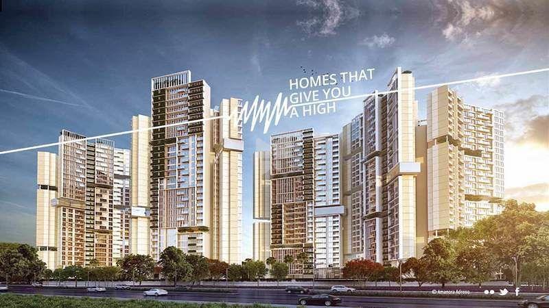 Amanora Adreno Towers - Elevation Photo