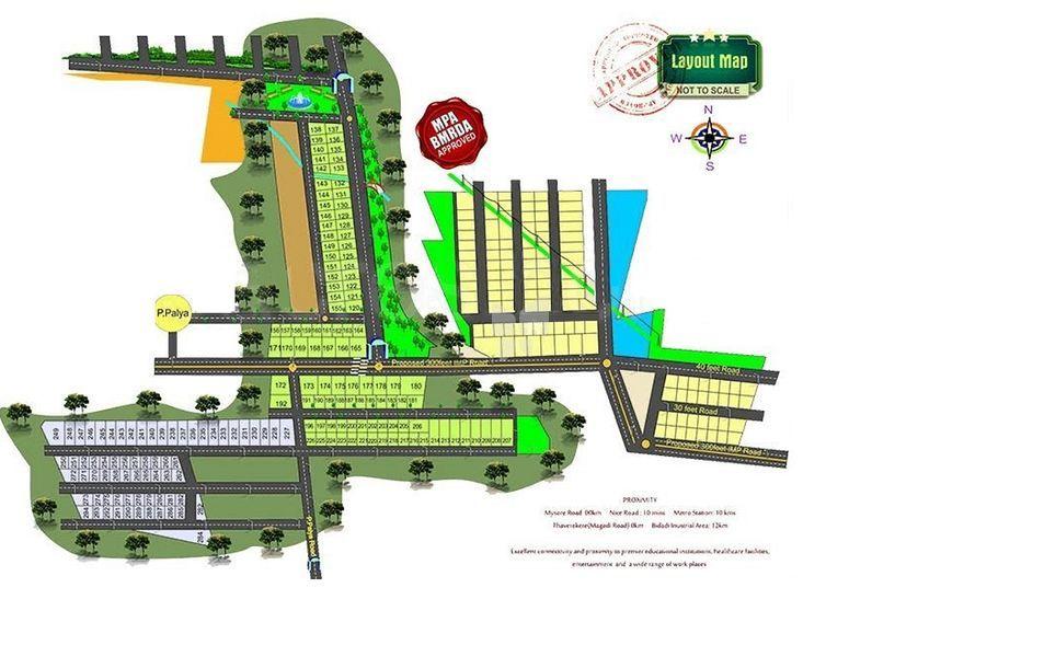 Bhagini Suryodaya Enclave - Master Plan