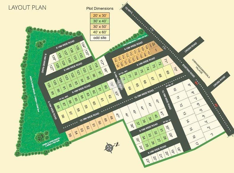 Vasundhara Phase I - Master Plan