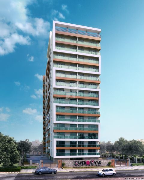 Nahar Tower of Adyar - Elevation Photo