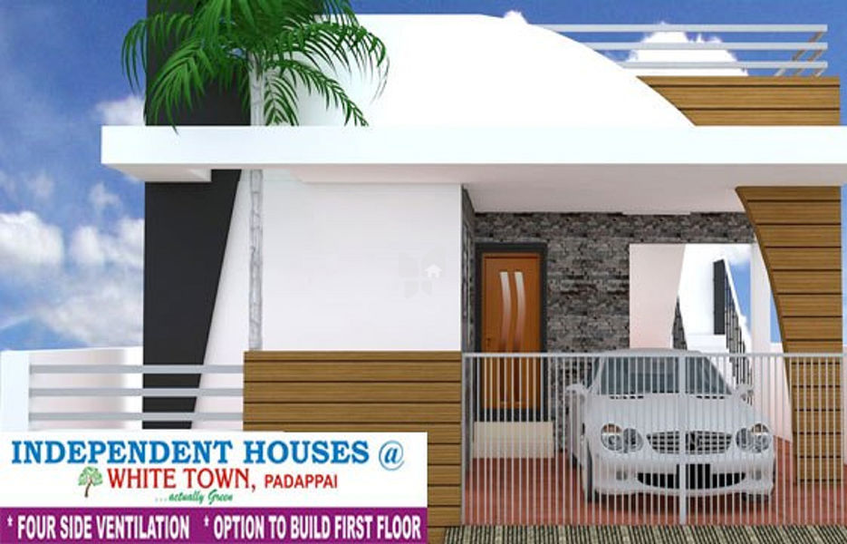 Right Angle White Town - Elevation Photo
