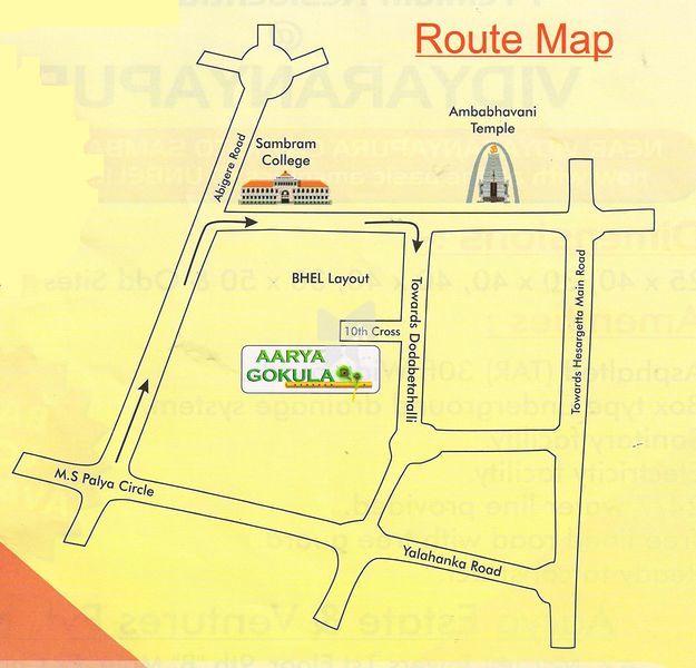 Arya Gokula - Location Map