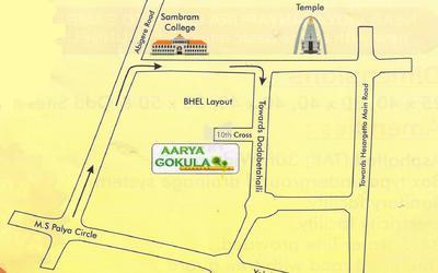 arya-gokula-in-vidyaranyapura-location-map-fwj