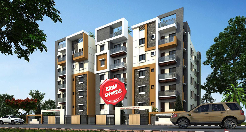 Srinivasa Palm Woods - Elevation Photo