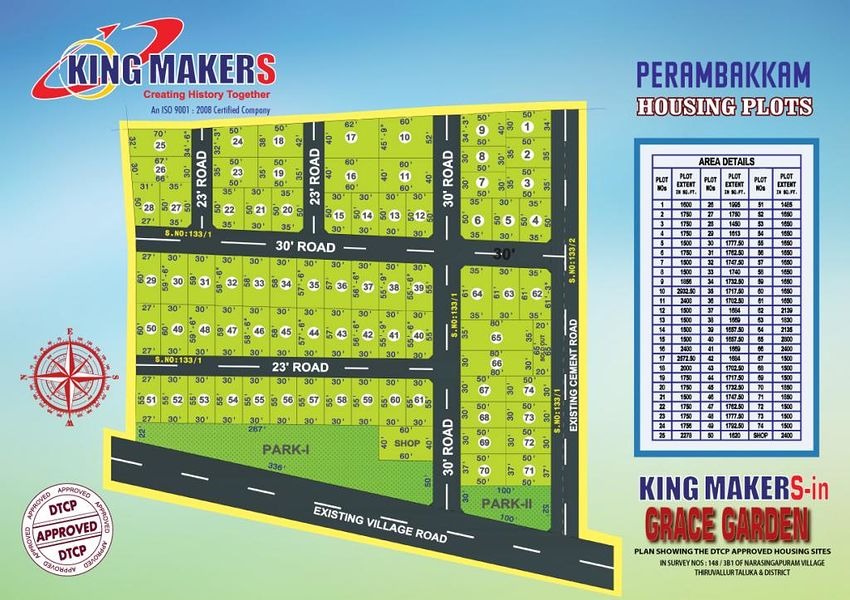 Kingmakers Grace Garden - Master Plans