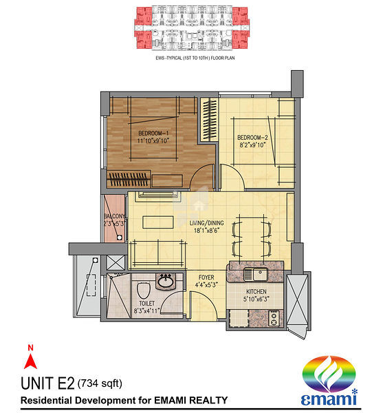 Emami tejomaya in navalur chennai price floor plans for Apartment plans chennai