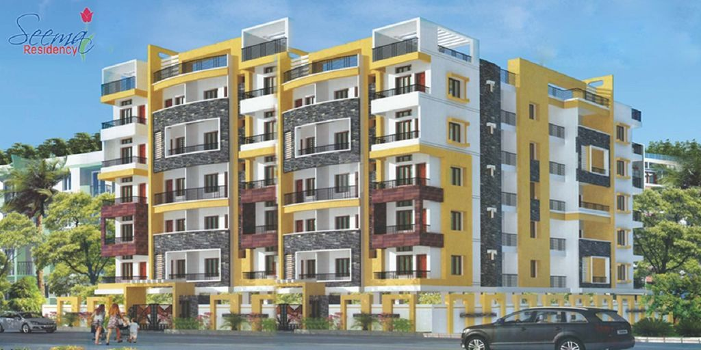 City Seema Residency - Elevation Photo