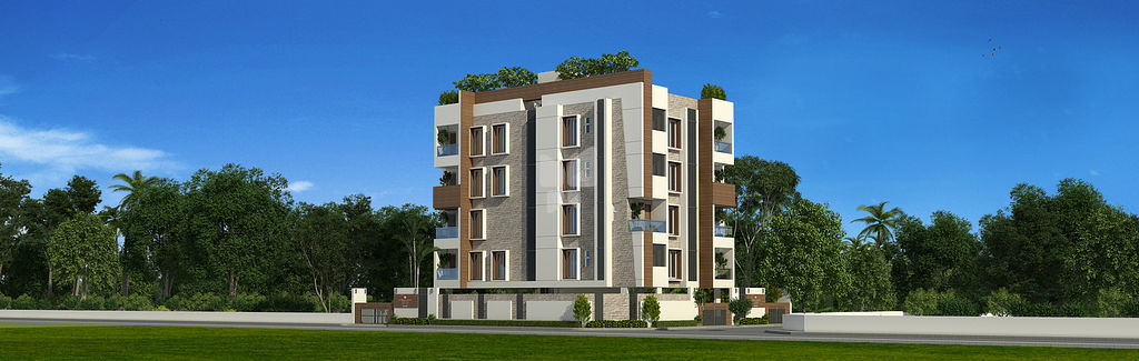 India Builders Aarthi - Elevation Photo